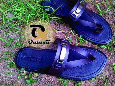 Octoxii cross up chain slippers