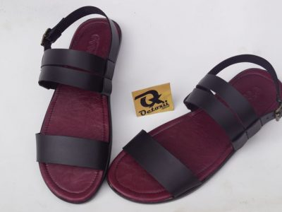 Octoxii colored insole leather sandals