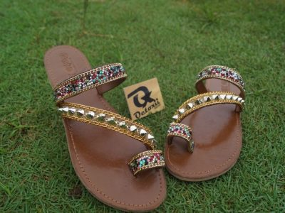 Arabian sequence slippers
