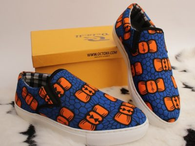 Eko Ankara Sneakers 001(custom fabric)