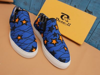 Eko Ankara Sneakers 002(custom fabric)