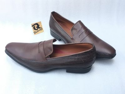Mart Leather Mix Loafers (Brown)