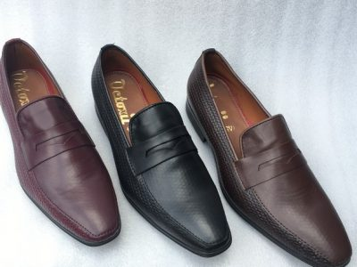 Mart Leather Mix Loafers