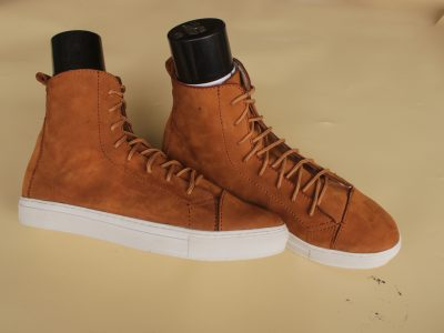 High Top Lase-Up Sneakers