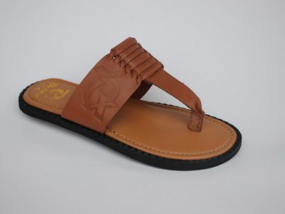 TWIST TOE Brown